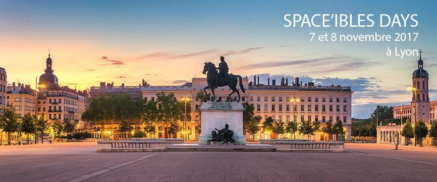 Lyon Place Bellecourt avec les dates des Space'ibles Days 2017