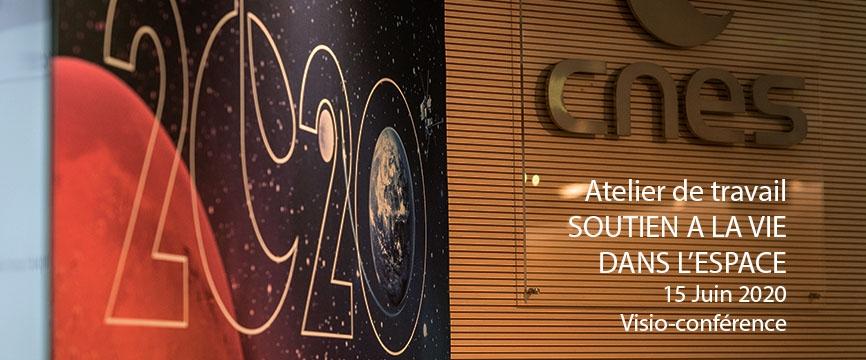 Mur salle de l'espace du CNES + information rendez-vous du groupe de travail